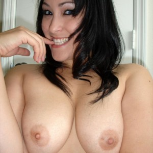 Kitty loves to show off her tits to anyone who wants to see them