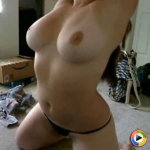 Watch as GND Kayla frees her huge tits from her pink bra