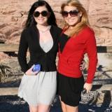 Cute exgirlfriend with friend